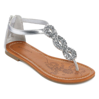 jcpenney.com | Arizona Hibiscus Girls Strap Sandals