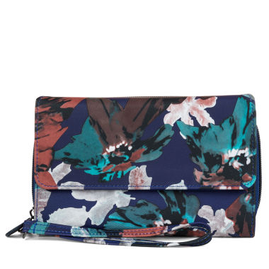 jcpenney.com | Mundi Big Fat Wallet Indigo Floral