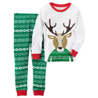 jcpenney.com | Carter'S Boys Long Sleeve Pant Pajama Set-Baby