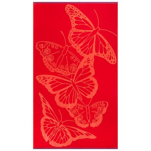 """Softesse™ Butterflies 40""""x72"""" Beach Towel"""