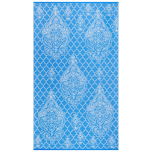 "Softesse™ Urban Damask 40""x72"" Beach Towel"