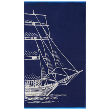 "jcpenney.com | Softesse Sail 40""x72"" Beach Towel"