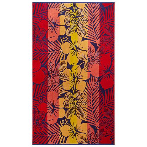 "Softesse™ Hibiscus 40""x72"" Beach Towel"