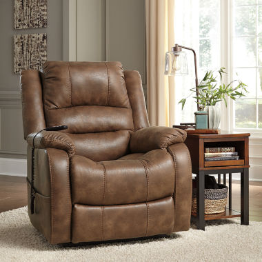 jcpenney.com | Signature Design by Ashley Yandel Faux Leather Pad-Arm Recliner