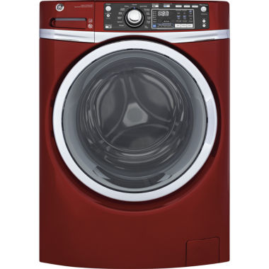 jcpenney.com | GE® ENERGY STAR® 4.9 DOE cu. ft. Capacity Front Load Washer with Steam