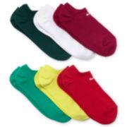 Nike® 6-pk. No-Show Socks