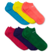 adidas® 6-pk. No-Show Superlite Socks