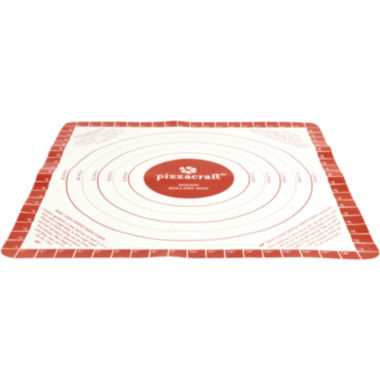 "jcpenney.com | Charcoal Companion® Pizzacraft® 20"" Silicone Dough Rolling Mat"