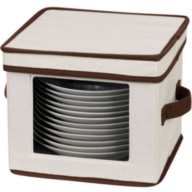 jcpenney.com | Household Essentials® Dessert Plate/Bowl Storage Chest
