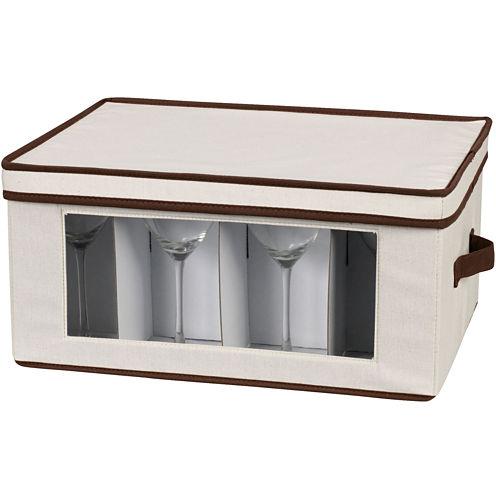 Household Essentials® Stemware/Goblet Storage Chest