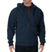 Dickies® Heavyweight Fleece Full Zip Hoodie–Big & Tall