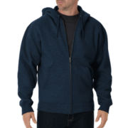 Dickies® Heavyweight Fleece Full Zip Hoodie–Big & Tall