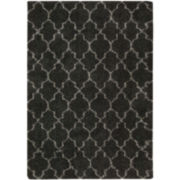 Amore Pattern Shag Rectangular Rugs