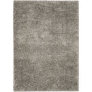 Amore Solid Shag Rectangular Rugs