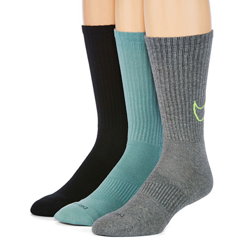 Nike® 3-pk. Mens Dri-FIT HBR Crew Socks - Big & Tall