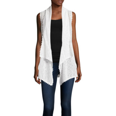 jcpenney.com | Almost Famous Sleeveless Cardigan Juniors