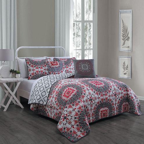 Avondale Manor Malta 5pc Quilt Set