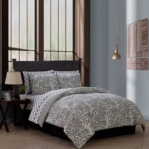Avondale Manor Fresco 8-pc. Complete Bedding Set with Sheets