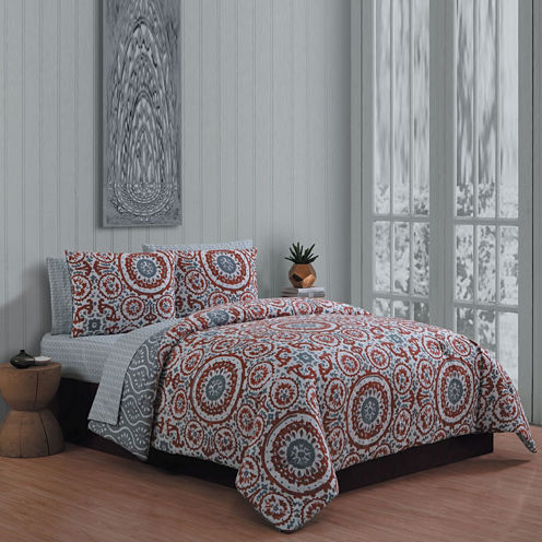 Avondale Manor Leona 3-pc. Complete Bedding Set with Sheets