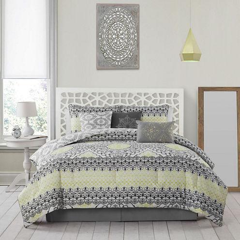 Avondale Manor Celia 5-pc. Reversible Comforter Set
