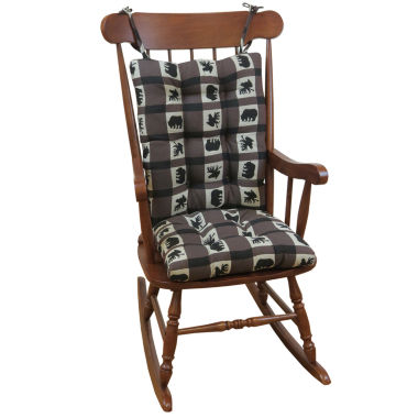 jcpenney.com | Klear Vu Animal Lodge Jumbo Universal Rocking Chair Cushions