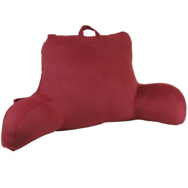 jcpenney.com | Klear Vu Velour Bedrest Pillow with Side Pocket & Handle