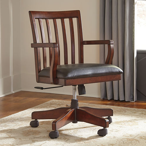 Signature Design by Ashley Wassner Swivel Office Chair