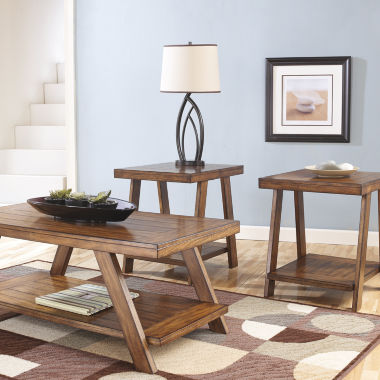 jcpenney.com | Signature Design by Ashley® Bradley 3-pc. Coffee Table