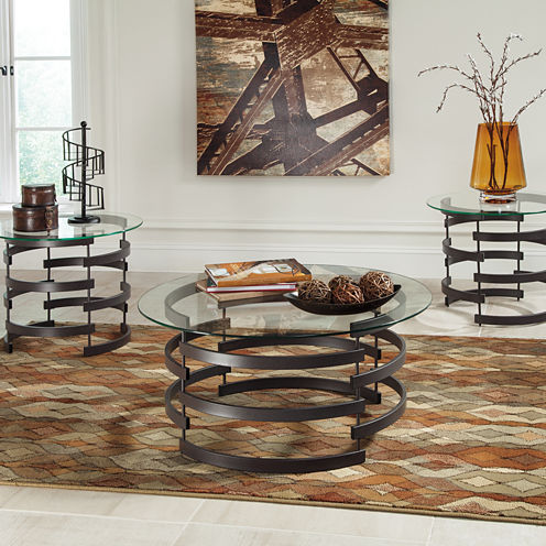 Signature Design by Ashley® Kaymine 3-pc. Coffee Table