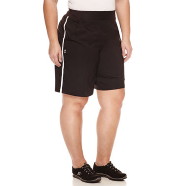 jcpenney.com | Made For Life Modern Fit Woven Bermuda Shorts-Plus