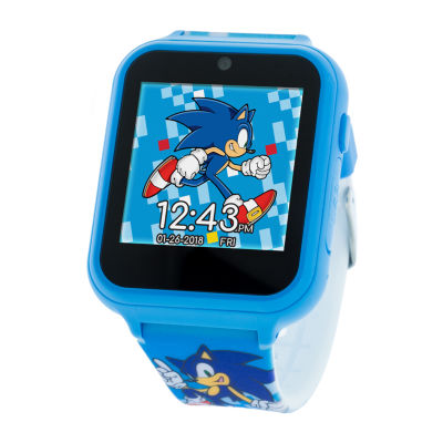 Sonic The Hedgehog Boys Multicolor Smart Watch Snc4055jc Jcpenney