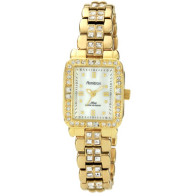 jcpenney.com | Armitron® Now® Womens Crystal-Accent Gold-Tone Watch