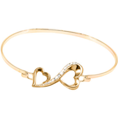 jcpenney.com | Love Grows™ Diamond-Accent Double-Heart Bracelet
