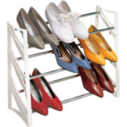 LYNK® 9-Pair Shoe Rack