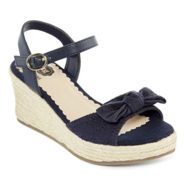 jcpenney.com | Total Girl® Wylie Girls' Wedge Sandals - Little Kids