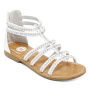 Total Girl® Emory Girls Gladiator Sandals - Little Kids