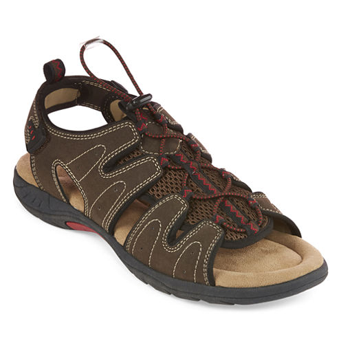 St. John's Bay® Cartop Mens Open Toe Bungee Sandals