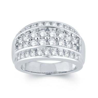 jcpenney.com | 2 CT. T.W. Diamond 14K White Gold Ring