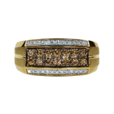 jcpenney.com | Mens 3/4 CT. T.W. White and Color-Enhanced Champagne Diamond Ring