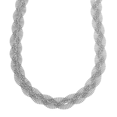 jcpenney.com |  Sterling Silver Braided Necklace