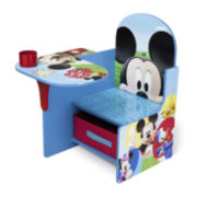 Disney Mickey Mouse Chair Desk with Storage Bin