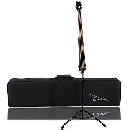 Dean Pace Upright Bass in Classic Black with Case