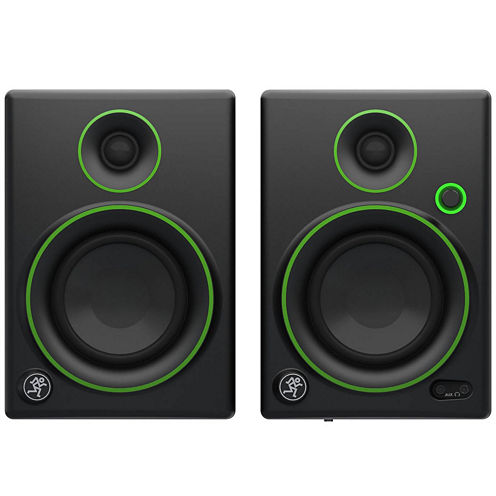 """Mackie CR4 Set of Two 4"""" Creative Reference Multimedia Monitors"""