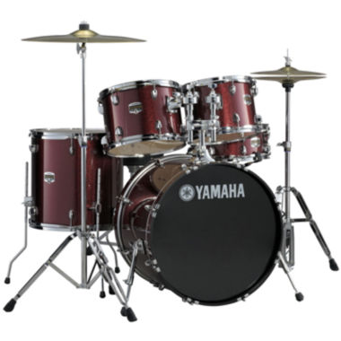 jcpenney.com | Yamaha GM2F56BGG Gigmaker Standard 5-pc. Drum Set with Hardware