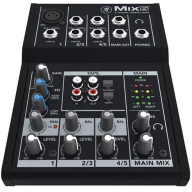 jcpenney.com | Mackie Mix5  5-Channel Compact Mixer