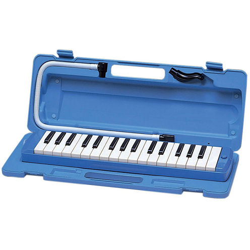 Yamaha Blue Pianica 32-Note Keyboard Wind Instrument