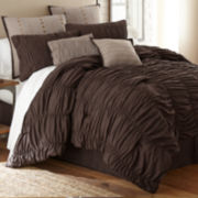 Bayle Ruched 8-pc. Comforter Set