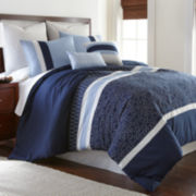 Ivory Gate Embroidered 8-pc. Comforter Set