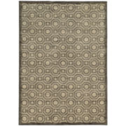 Octagon Link Rectangular Rug