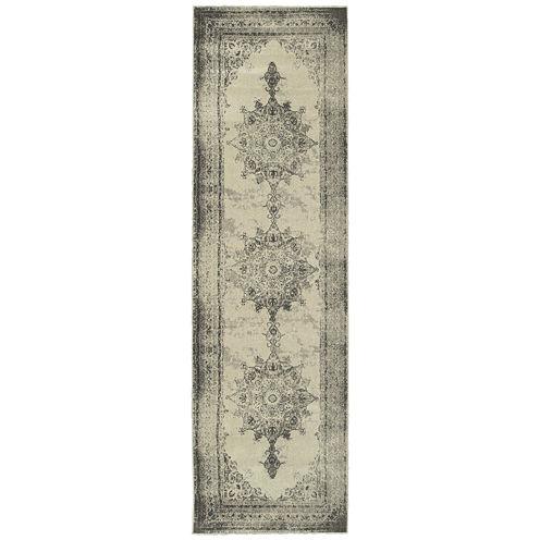 Oriental Weavers Buckingham Distressed Runner Rug